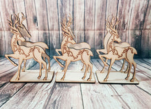 Santa sleigh, Personalized sleigh, With Or Without Reindeer