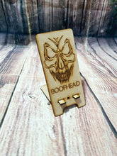 Skull Phone Stand, Personalized Phone Holder, Custom Image