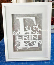 Large Light Up Name Frame