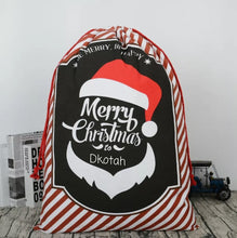 Santa sack, Personalized santa sack