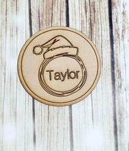 Christmas Design Drink Coaster, Personalized Coaster