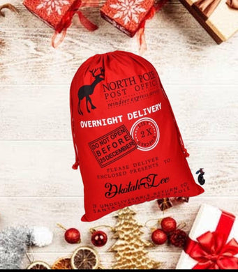 Personalized Santa Delivery Sack