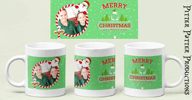 Photo Christmas mugs