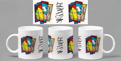 Personalized super hero mug