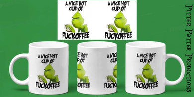 Nice Hot Cup Of, Grinch Mug