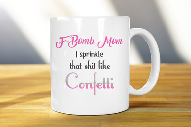 F-Bomb Adult Coffee Mug - Pitter Patter Baby Boutique