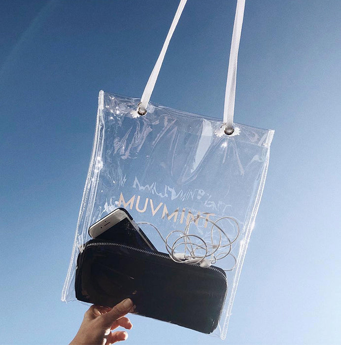 Clear Muvmint Tote
