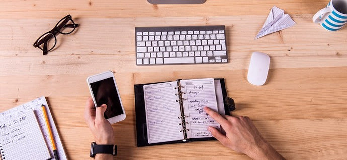 4 Tips for Using A Daily Planner Effectively