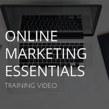 Online Marketing Essentials Webinar