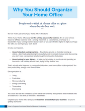 Organize Your Home Office for Maximum Productivity (Workbook)