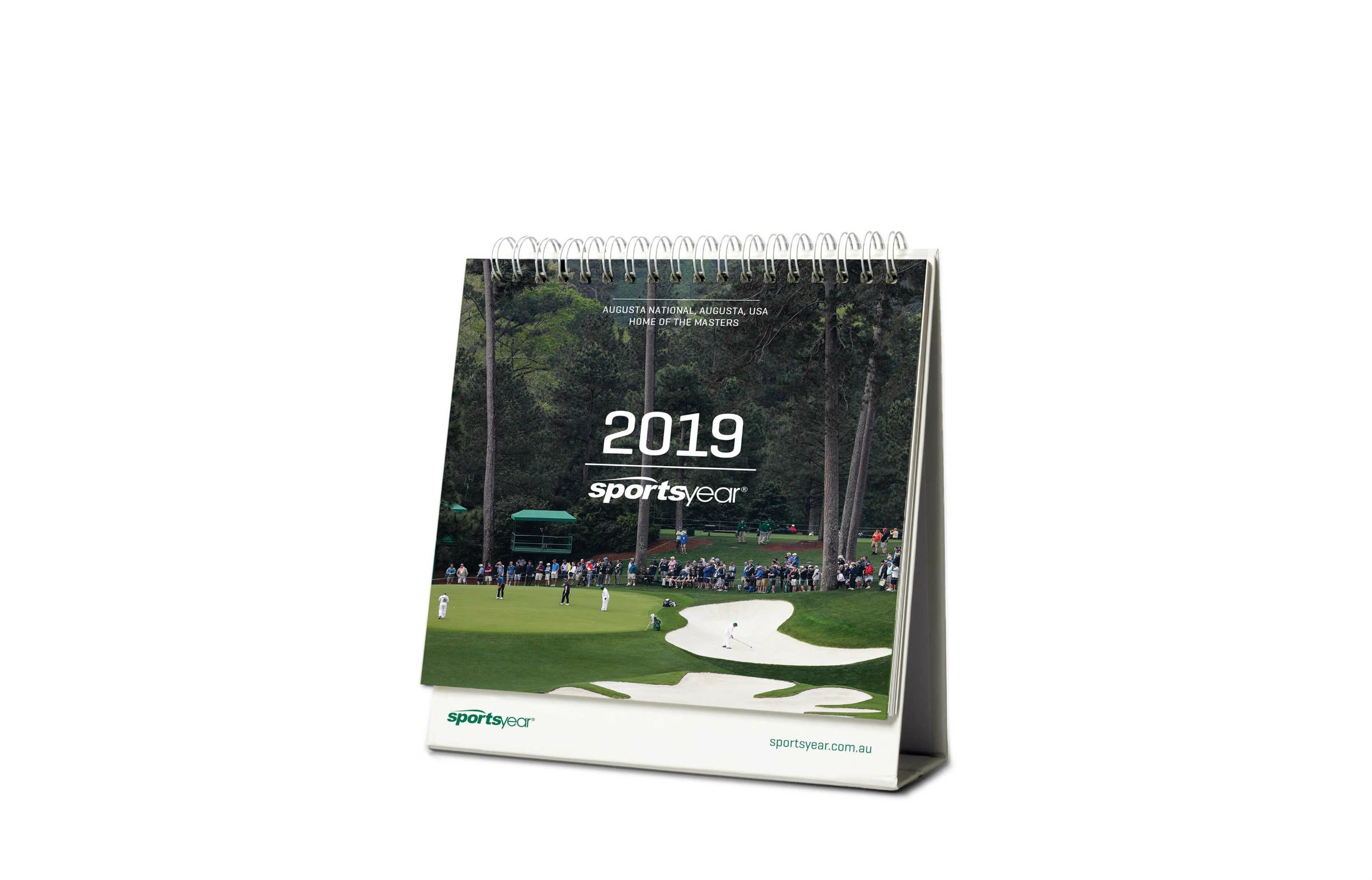 2019 Desk Calendar - Month to a page