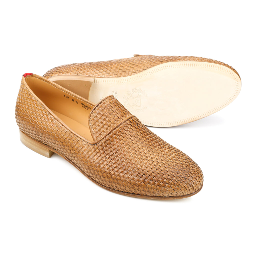 Tan Intrecciato Everyday Loafer