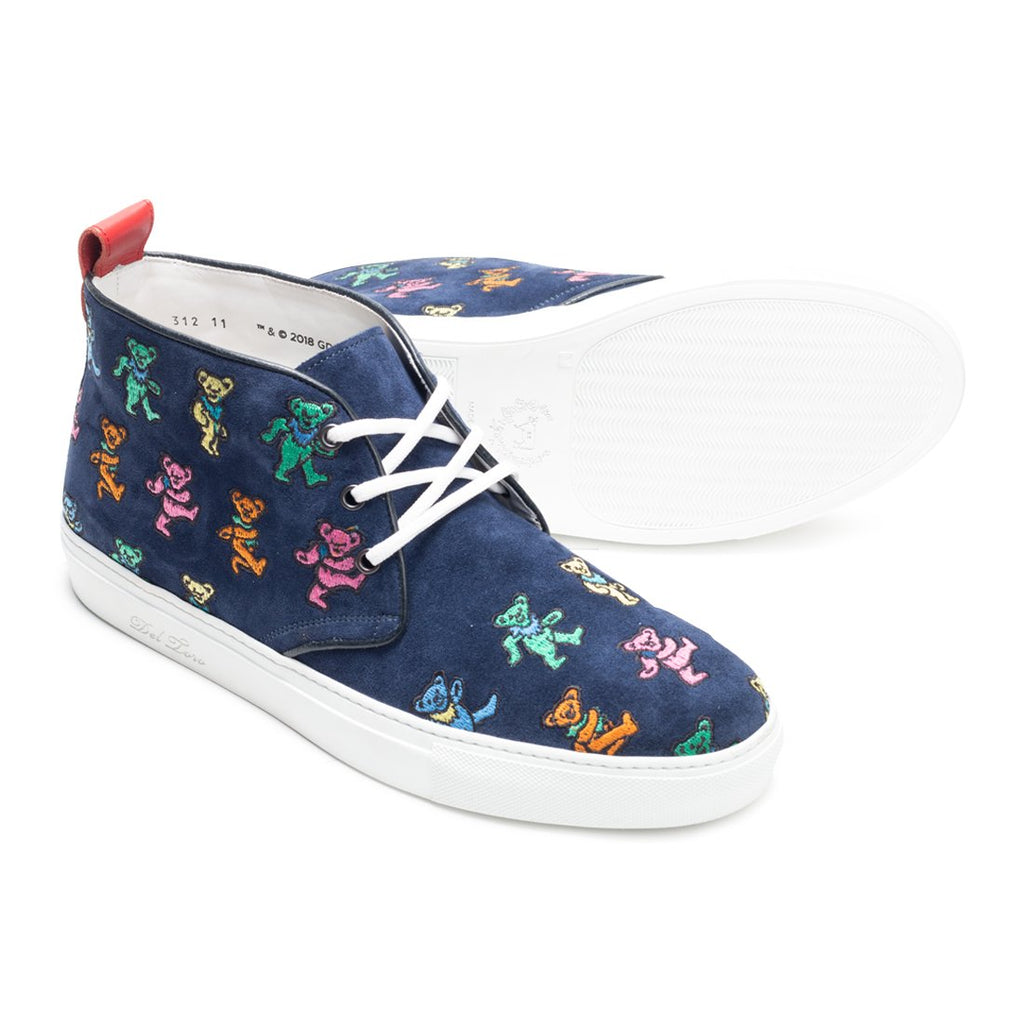 Del Toro x Grateful Dead Chukka with Marching Bears All Over