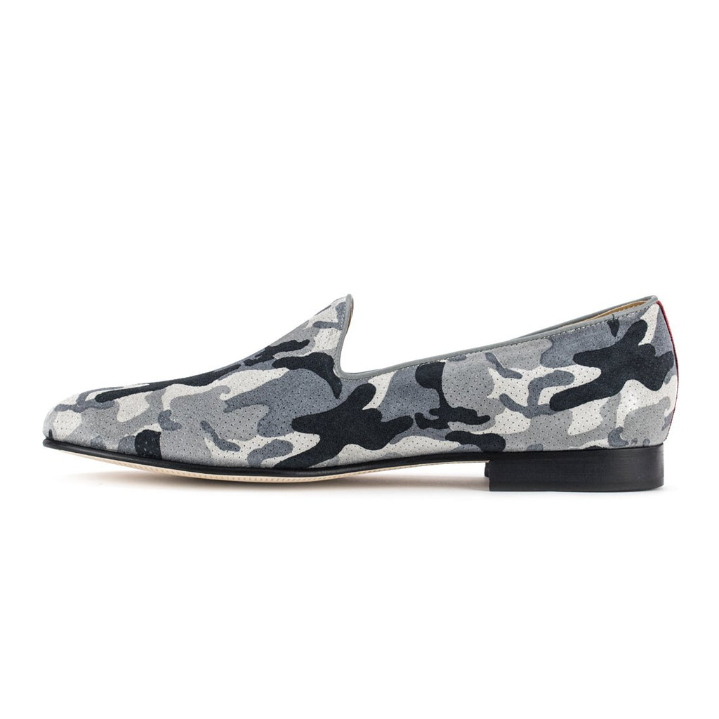 Grey Camo Slipper