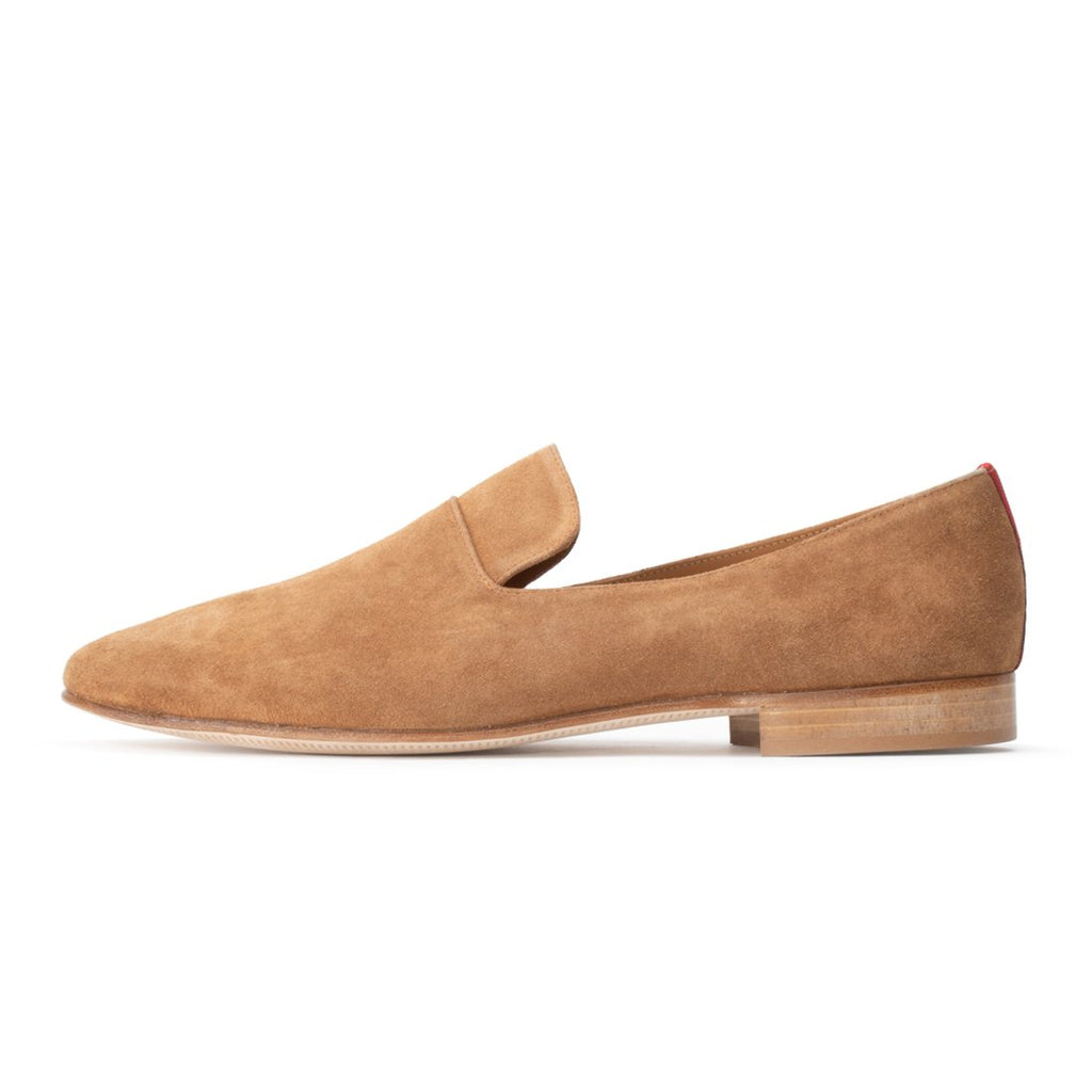 Cognac Suede Everyday Loafer