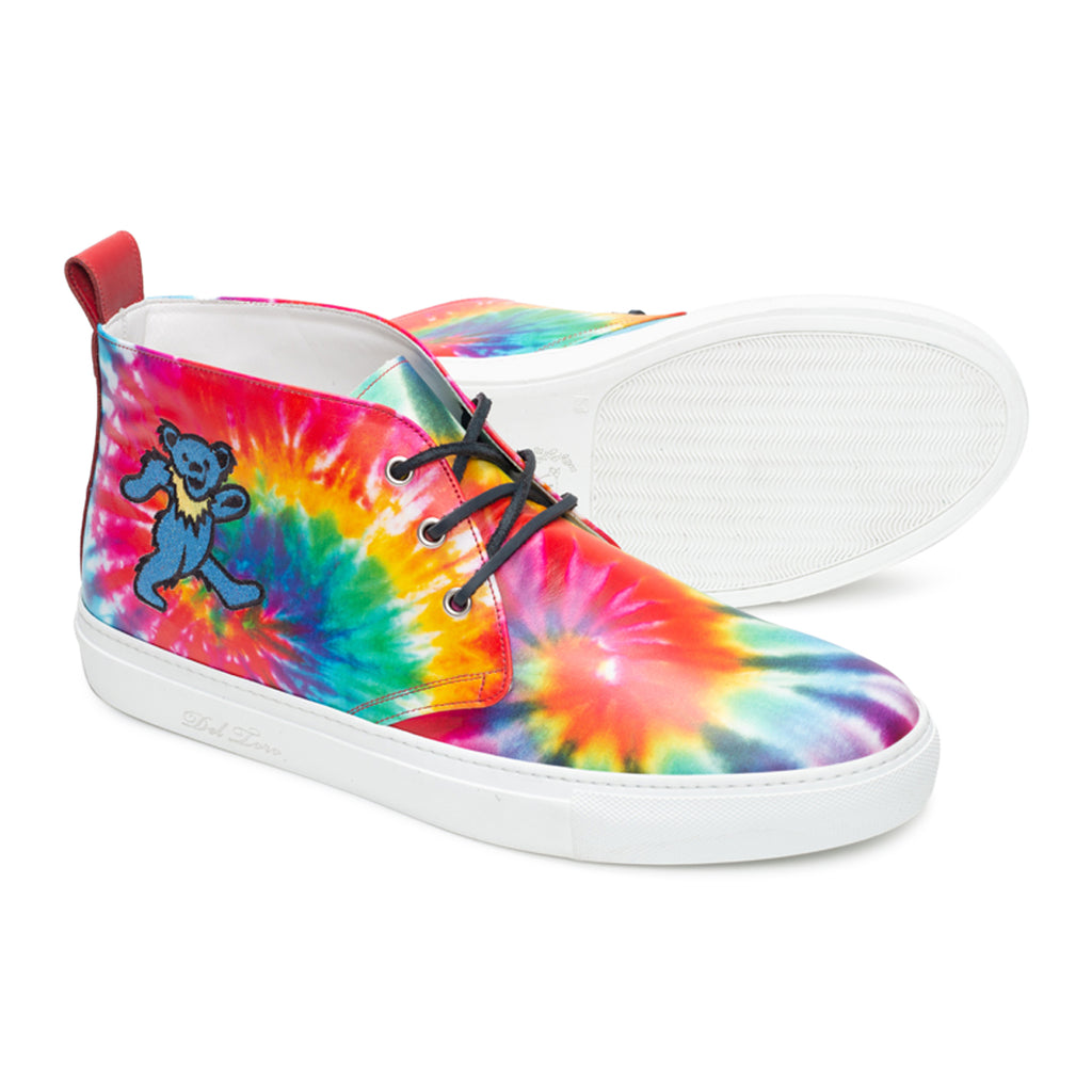 Del Toro x Grateful Dead Tie Dye Marching Bear Chukka