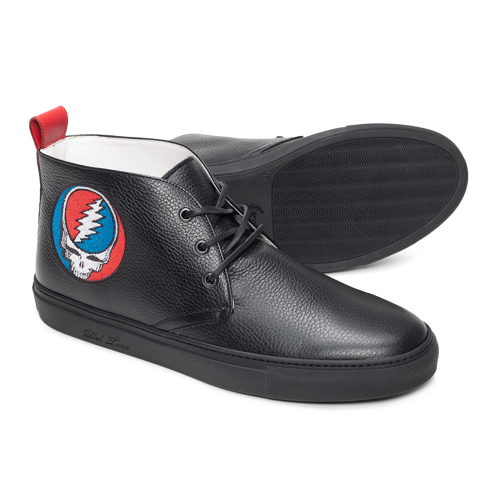 Del Toro x Grateful Dead Steal Your Face Chukka