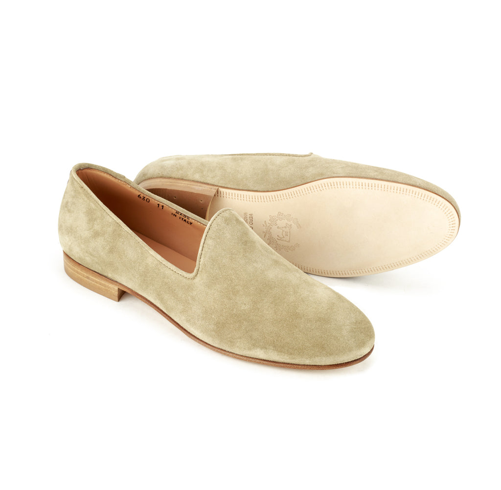 Sand Suede Slipper