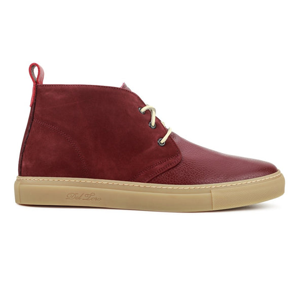 Burgundy Nabuk and Bottalato Torino Chukka