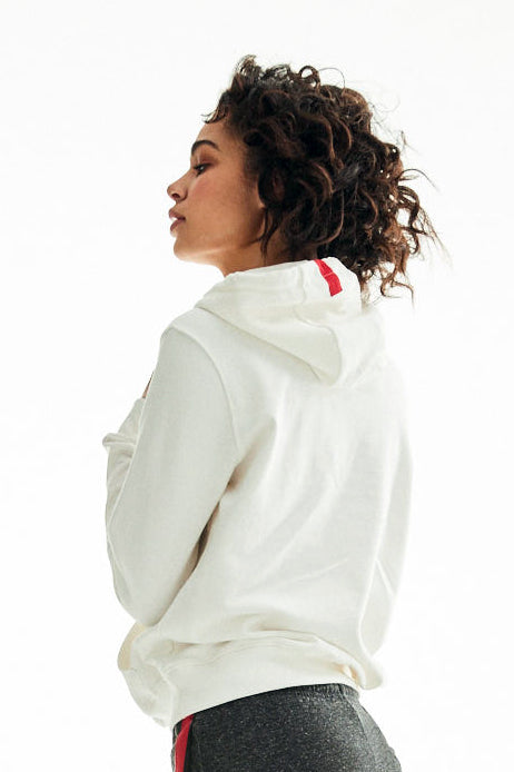 Women's Baby Powder Relaxed Fit Hoodie