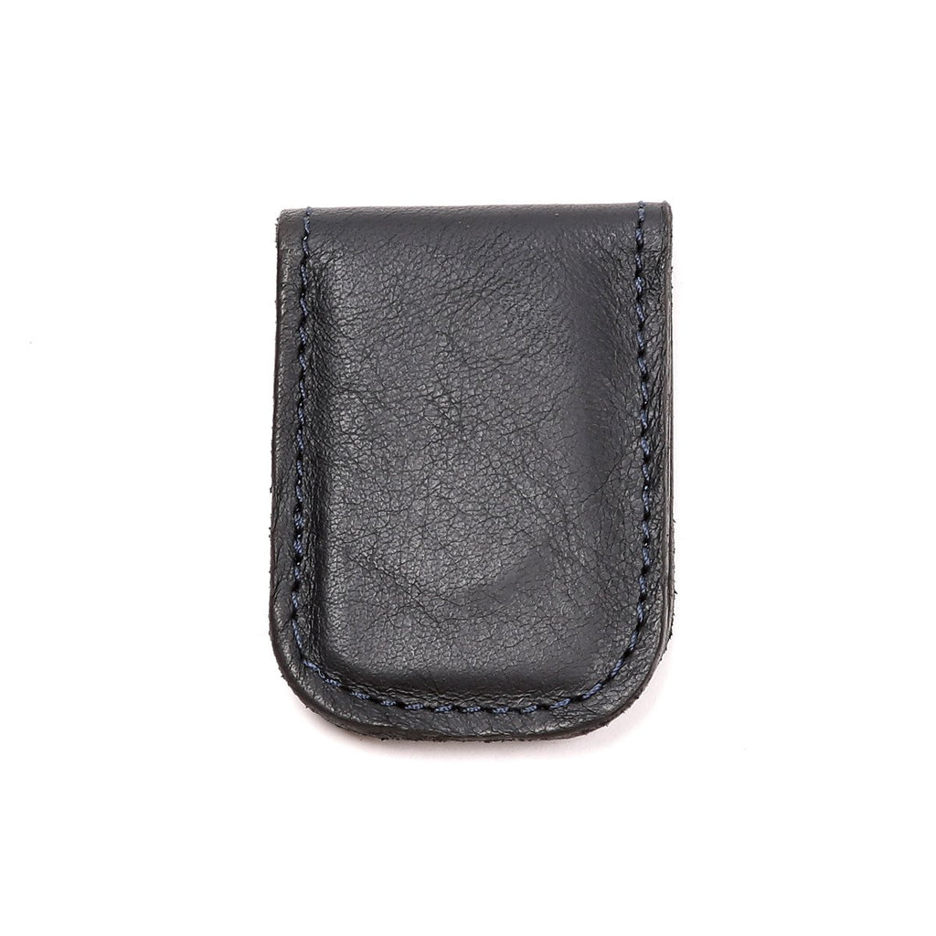 Accessories - Black Nappa Leather Money Clip