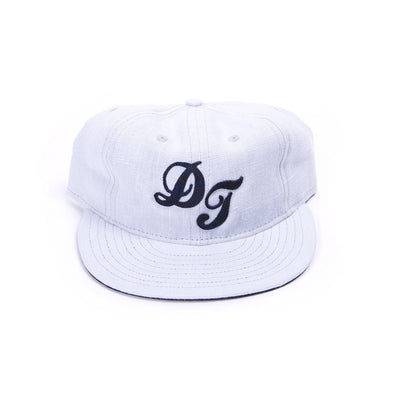 Accessories - Del Toro X Ebbets Field Sky Blue Linen Baseball Cap