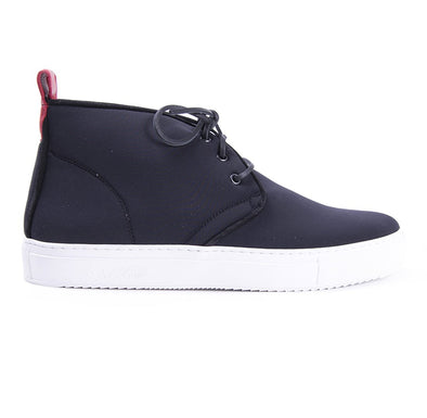 Black Neoprene Chukka