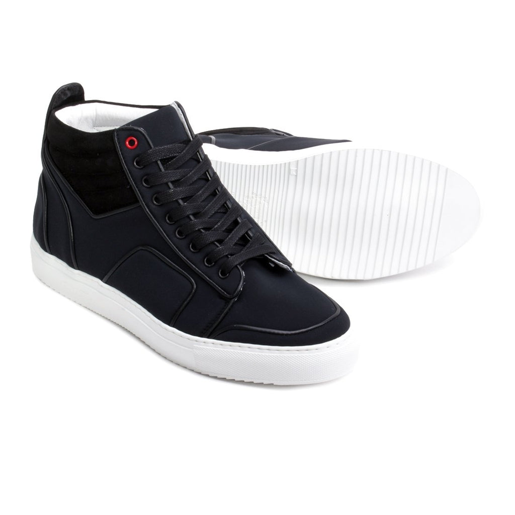 Black Neoprene Boxing Sneaker