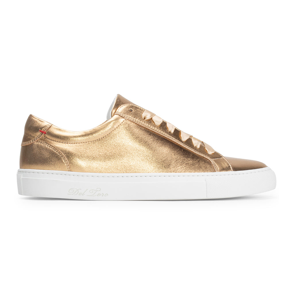 Women's Gold Distressed Sardenga II Sneaker