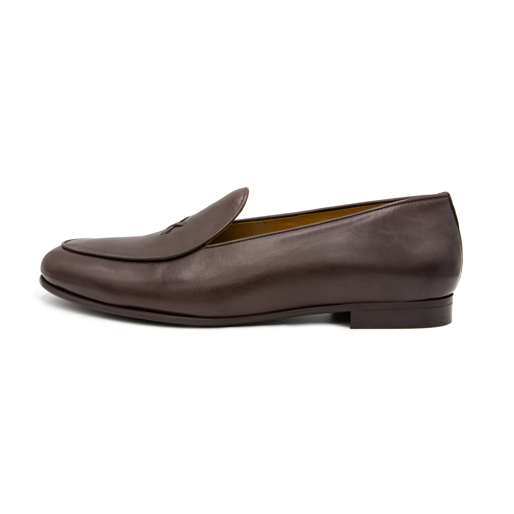 Men's Brown Milano Leather Loafer