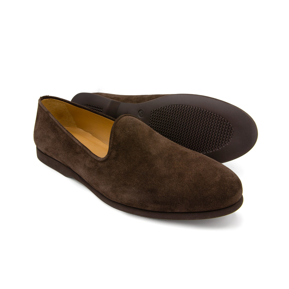Men's Brown Suede Napoli Slipper