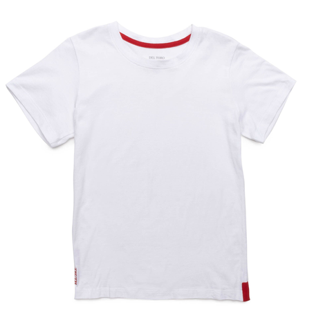 Men's Ghost White Relaxed Fit Crewneck