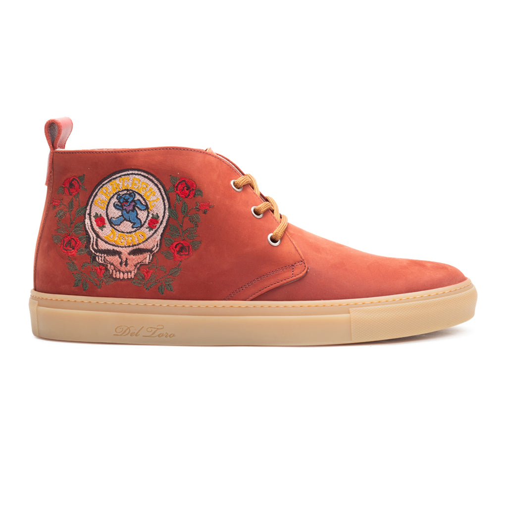 Del Toro x Grateful Dead Space Your Face Marching Bear Chukka