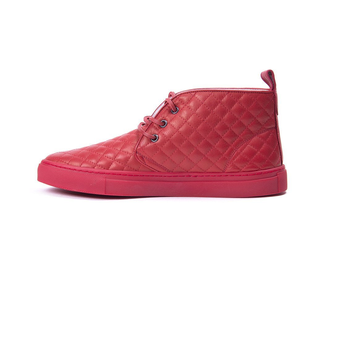 Red Quilted Chukka – Del Toro Shoes : del toro quilted chukka - Adamdwight.com