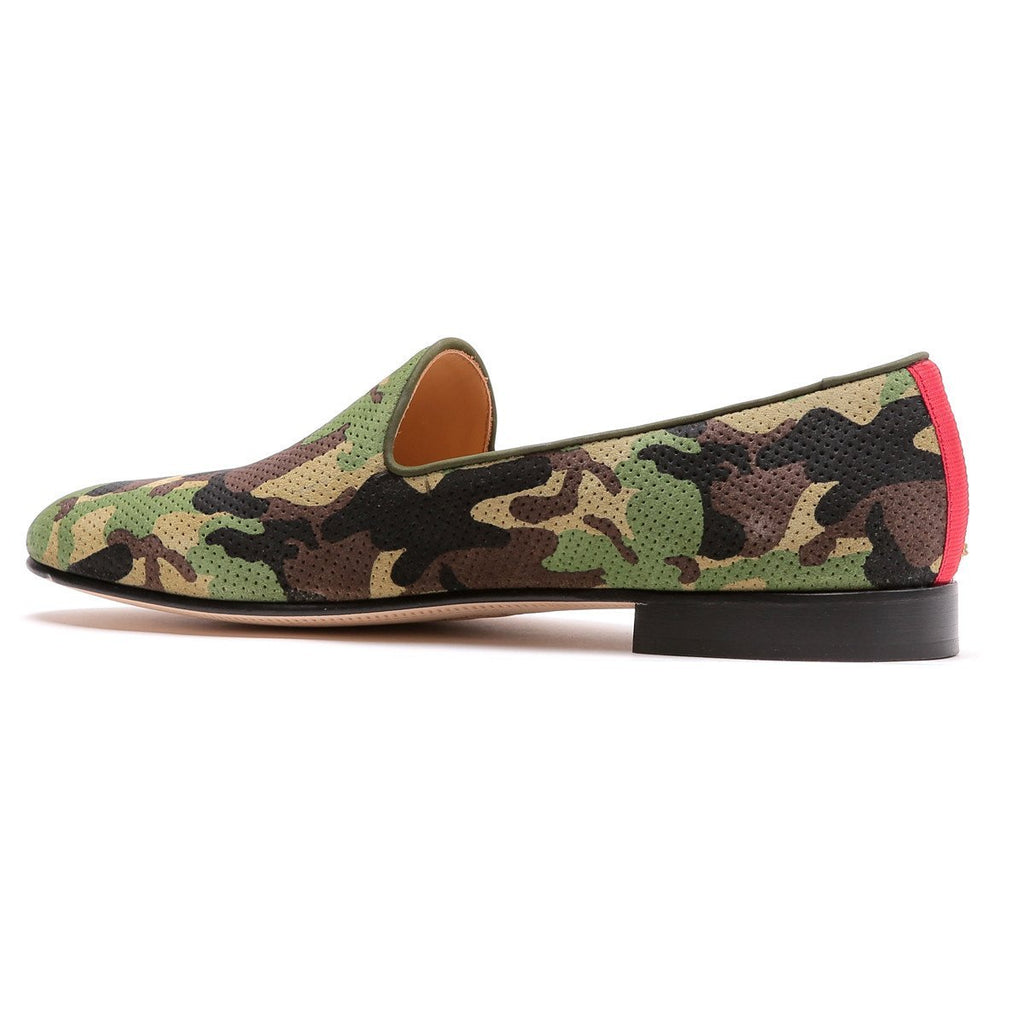 Green Camo Slipper