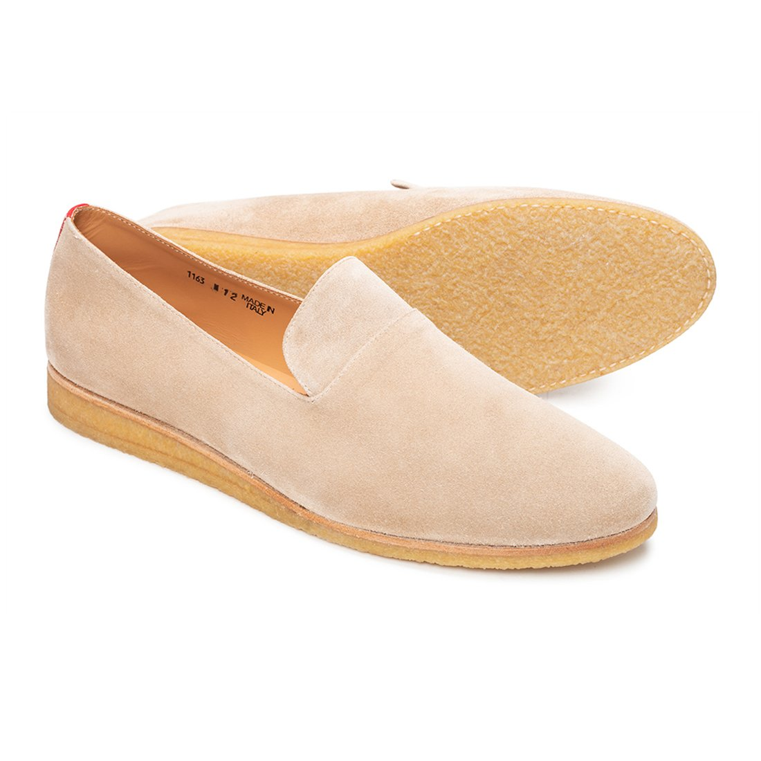 Sand Suede Everyday Loafer with Crepe Sole