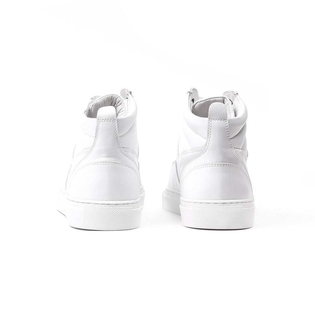 Women's White Boxing Sneaker