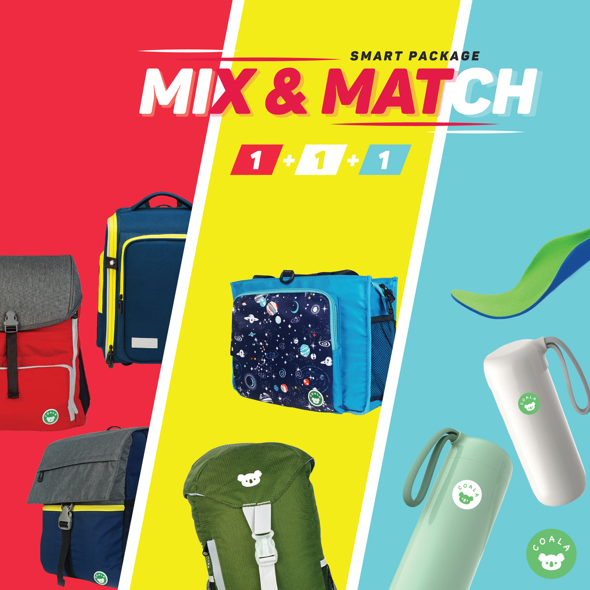 Coala™ Smart Combo -- MIX & MATCH