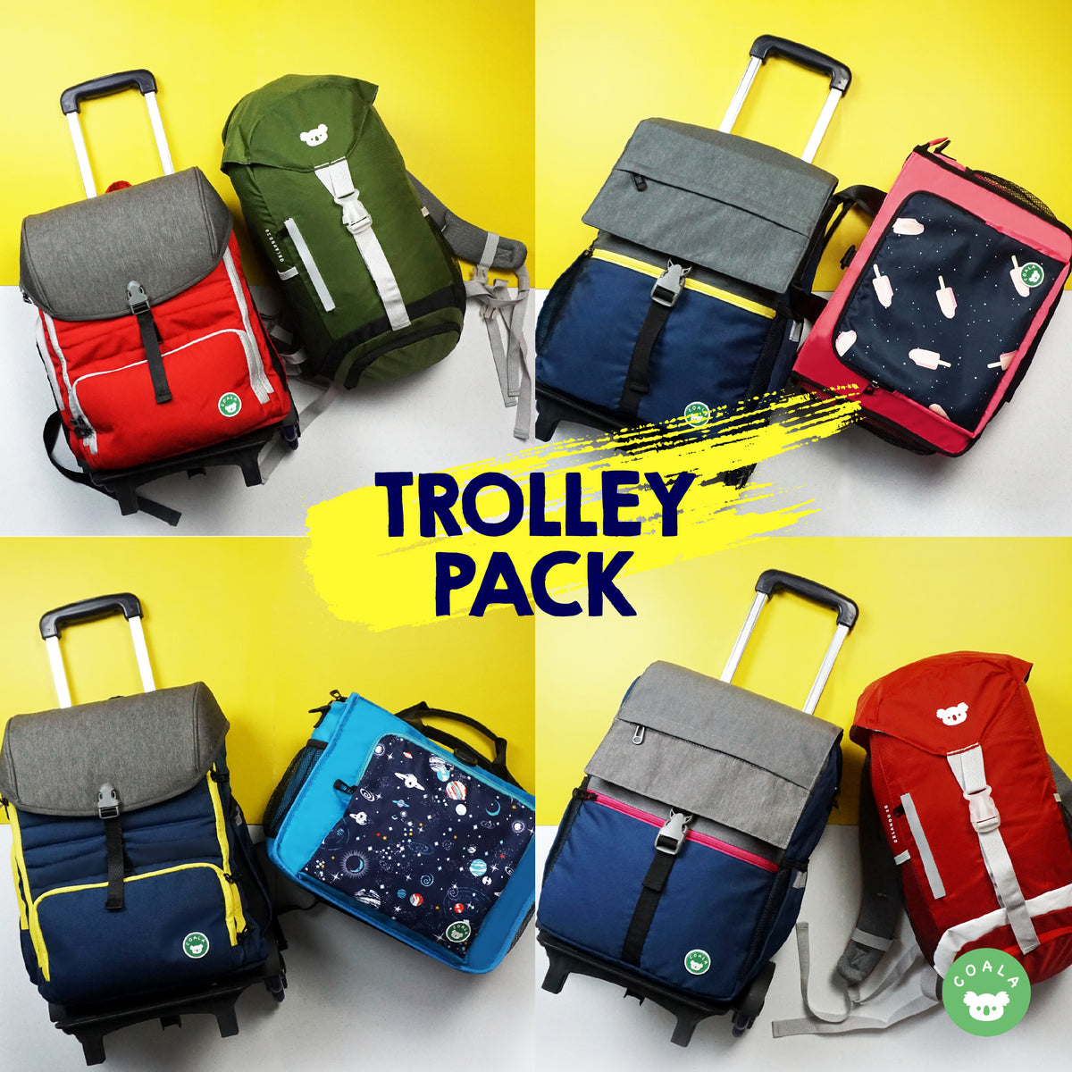 Coala™ Smart Combo -- TROLLEY PACK