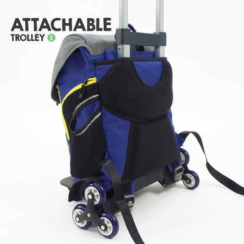 Attachable Trolley - Coala Kids School Bag Larry