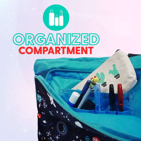 Organized Compartment  - Coala Kids Tuition Bag