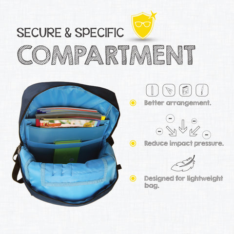 Compartment  - Coala Kids School Backpack