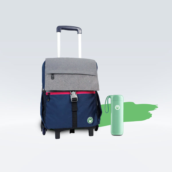(3-in-1) Gibb + Pisa Tumbler + Trolley