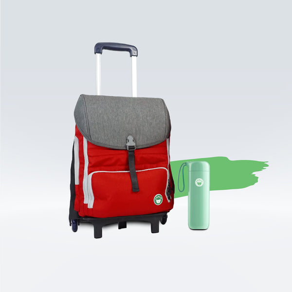 (3-in-1) Larry + Pisa Tumbler + Trolley