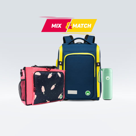 [Buy 1 Fee 2] Primo Premium School Bag