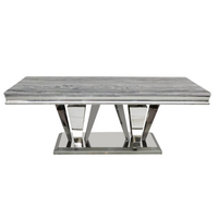 Maybelle Marble Top Coffee Table