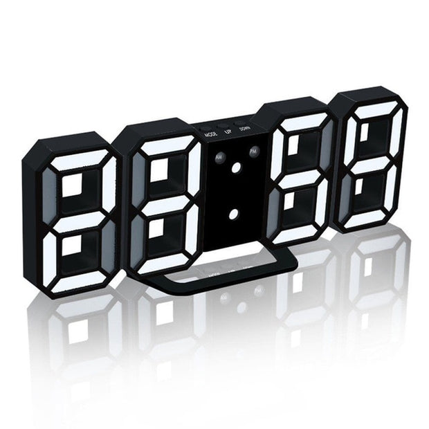 WALL CLOCKS 3D LED - Horloge Murale Numérique