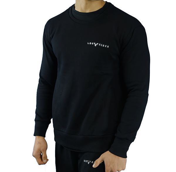 Unity Crew Neck Jumper - Black