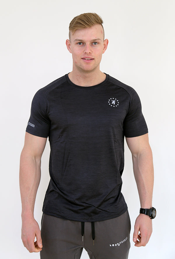 Trainer Tee - Black Marle