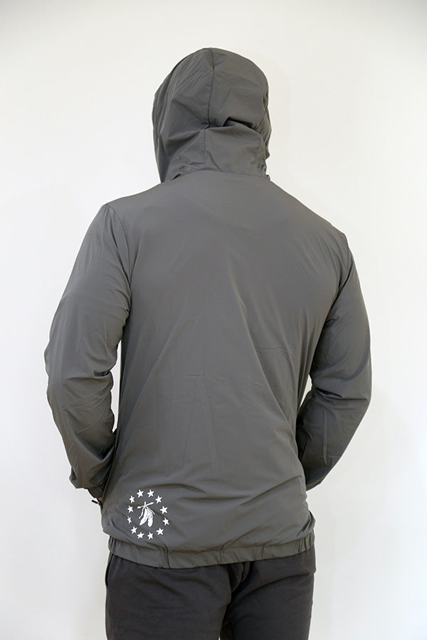 Softshell Windbreaker - Slate Grey